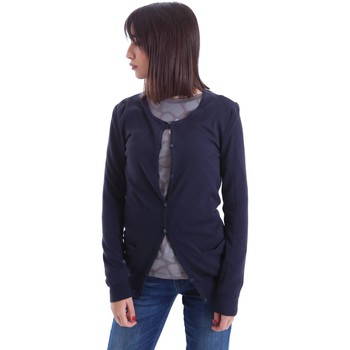 Clothing Women Jackets / Cardigans Rifle Y61770 03Z01 Cardigan Women Blue Blue