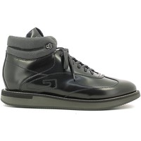 Shoes Men Hi top trainers Alberto Guardiani SU73411A Sneakers Man Black Black