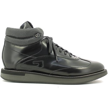 Shoes Men Hi top trainers Alberto Guardiani SU73411A Sneakers Man Nero