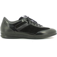 Shoes Men Low top trainers Alberto Guardiani SU73433F Classic shoes Man Black Black