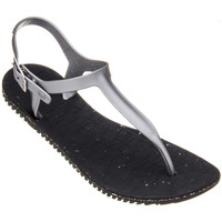 Shoes Women Sandals Amazonas Sandals Woman  Eco Uno Black and Silver BLACK