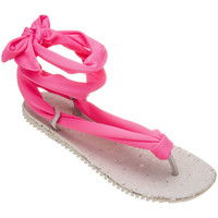 Shoes Women Sandals Amazonas Sandals Woman  Laces Pink and White PINK