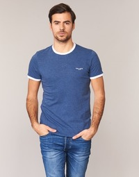 Clothing Men short-sleeved t-shirts Teddy Smith THE TEE Blue