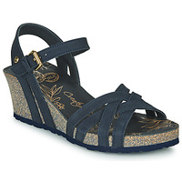 Shoes Women Sandals Panama Jack VERA Blue