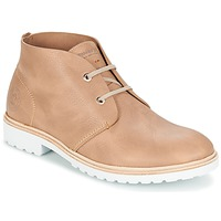 Shoes Men Mid boots Panama Jack BASIC PREMIUM TAUPE