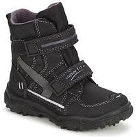Shoes Children Snow boots Superfit  Black