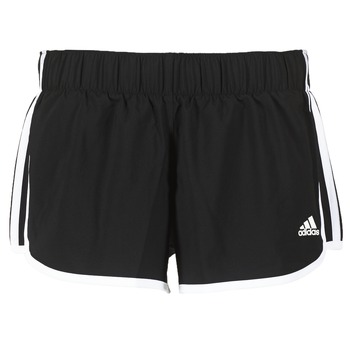 Clothing Women Shorts / Bermudas adidas Performance M10 SHORT WOVEN Black
