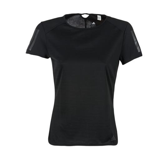 Clothing Women Short-sleeved t-shirts adidas Performance RS SS TEE W Black