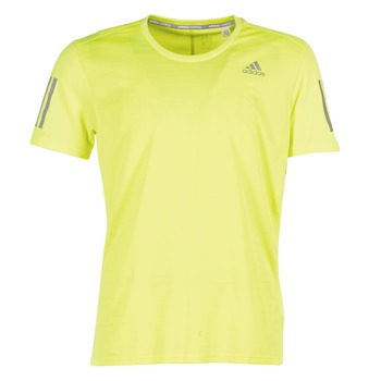 Clothing Men short-sleeved t-shirts adidas Performance RS SS TEE M Yellow