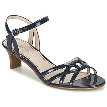 Shoes Women Sandals Esprit BIRKIN SANDAL MARINE