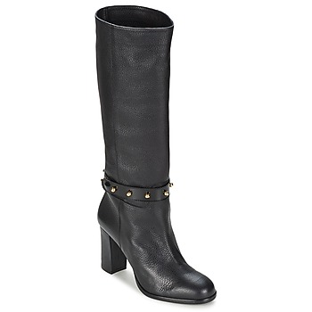 Shoes Women High boots Moschino Cheap & CHIC STUD Black