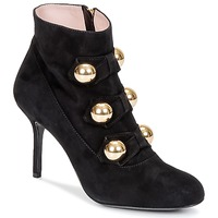 Shoes Women Ankle boots Moschino Cheap & CHIC BOW Black