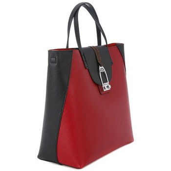 Bags Women Shopping Bags / Baskets La Martina CABALLITO RED BLACK Rosso