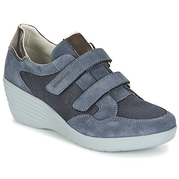 Shoes Women Low top trainers Stonefly EBONY Blue