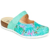 Shoes Women Clogs Think SOREN Turquoise