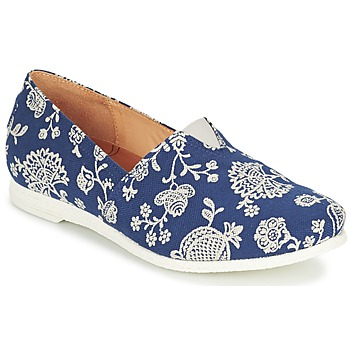 Shoes Women Slip-ons Think GRIVA Marine / White