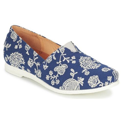 Shoes Women Slip-ons Think GRIVA Marine / White