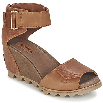 Shoes Women Sandals Sorel JOANIE SANDAL Brown / Rustique