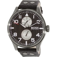 Watches Men Analogue watches Hugo Boss 1513086 Black