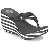 Shoes Women Flip flops Zaxy LIPSTICK V Black / White
