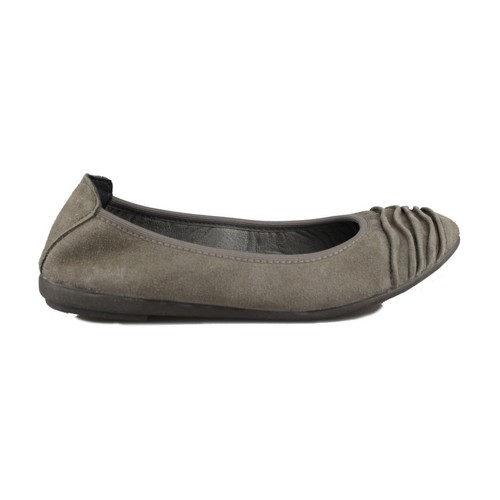 Shoes Women Flat shoes Vulladi SERRAJE GRIS