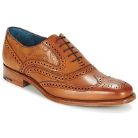 Shoes Men Brogues Barker MC CLEAN Brown