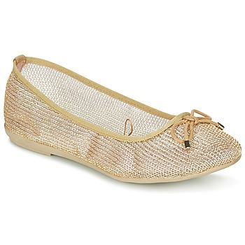 Shoes Women Flat shoes Refresh OULALA Gold