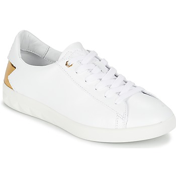 Shoes Women Low top trainers Diesel S-OLSTICE LOW W White / GOLD