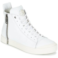 Shoes Men Hi top trainers Diesel S-NENTISH White