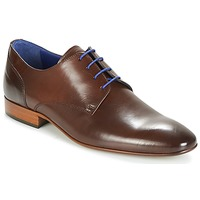 Shoes Men Derby Shoes Azzaro DELIGO Brown