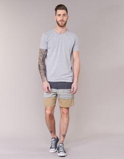 Clothing Men Shorts / Bermudas Volcom THREEZY JAMMER MARINE / BEIGE