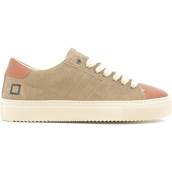 Shoes Men Low top trainers Date D.a.t.e. A251-NW-VE-VI Sneakers Man Beige Beige