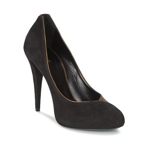 Shoes Women Heels Roberto Cavalli YPS530-PC219-D0127 Black / Gold