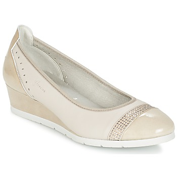 Shoes Women Flat shoes Dorking DESEO BEIGE