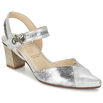 Shoes Women Heels Dorking DELTA Silver