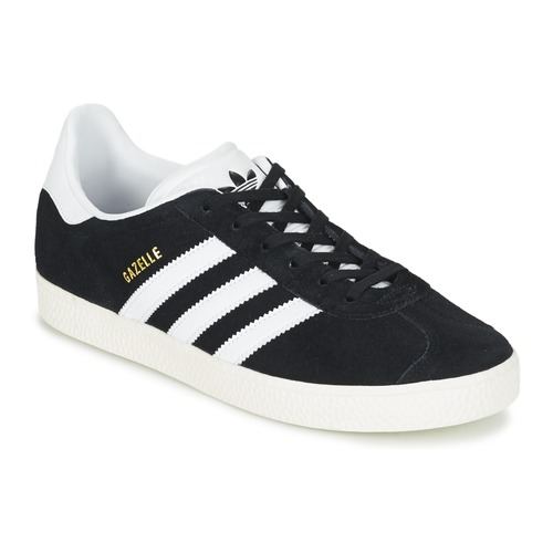 sports shoes 4ffc5 60974 Shoes Children Low top trainers adidas Originals GAZELLE J Black