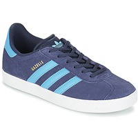 Shoes Children Low top trainers adidas Originals GAZELLE J Grey