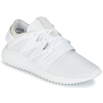 Shoes Women Hi top trainers adidas Originals TUBULAR VIRAL W White