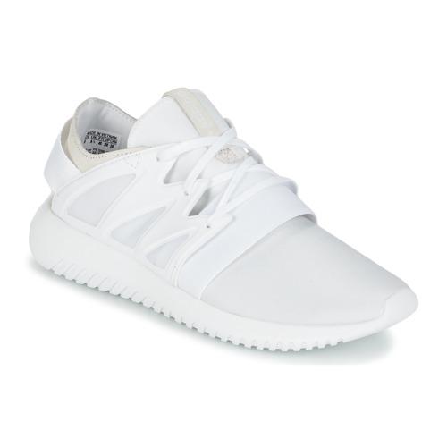 Shoes Women Hi top trainers adidas Originals TUBULAR VIRAL W White