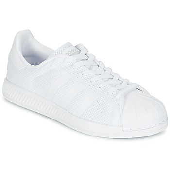 Shoes Men Low top trainers adidas Originals SUPERSTAR BOUNCE White