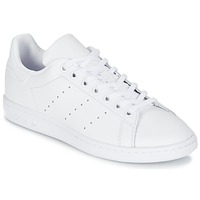 Shoes Children Low top trainers adidas Originals STAN SMITH J White