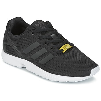 Shoes Boy Low top trainers adidas Originals ZX FLUX J Black