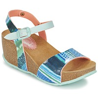 Shoes Women Sandals Desigual BIO 7 BLUE AQUARELLA Blue