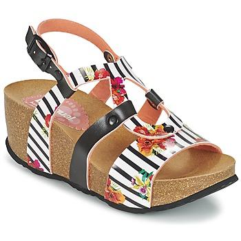 Shoes Women Sandals Desigual BIO 9 FLORES Black