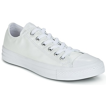 Shoes Women Low top trainers Converse CHUCK TAYLOR ALL STAR SEASONAL METALLICS OX White