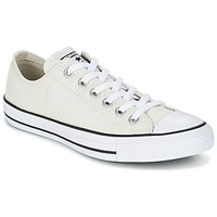 Shoes Women Low top trainers Converse CHUCK TAYLOR ALL STAR SNAKE WOVEN OX ECRU / Black / White