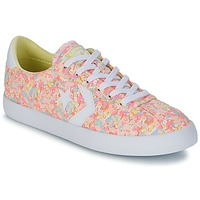 Shoes Women Low top trainers Converse BREAKPOINT FLORAL TEXTILE OX Pink / Metallic / Yellow / White