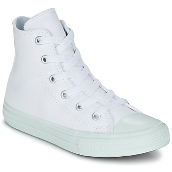 Shoes Girl Hi top trainers Converse CHUCK TAYLOR ALL STAR II PASTEL SEASONAL TD HI White / Blue / SKY