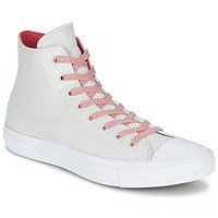 Shoes Hi top trainers Converse CHUCK TAYLOR ALL STAR II BASKETWEAVE FUSE HI ECRU / White / Red
