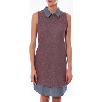 Clothing Women Short Dresses Coquelicot Robe  Bordeaux 16204 Purple